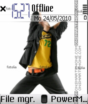 Music theme 01 es el tema de pantalla
