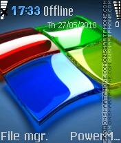 Windows7 10 theme screenshot