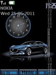 Mazda Clock theme screenshot