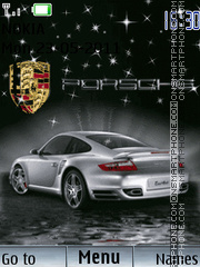 Porsche Animated 02 theme screenshot
