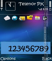 Nokia N95 V2 theme screenshot