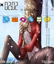 Anime Couple es el tema de pantalla