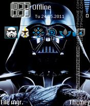 Darth Vader 02 theme screenshot