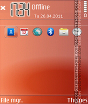 Red Classsic theme screenshot