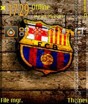 Barcellona Fc 01 theme screenshot