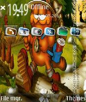 Garfield 4 theme screenshot
