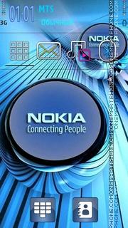 Nokia Dual Mode theme screenshot