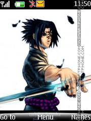 Uchiha sasuke29 Theme-Screenshot
