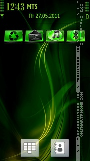 Crazy stoner theme screenshot