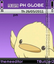 Hibird Theme tema screenshot