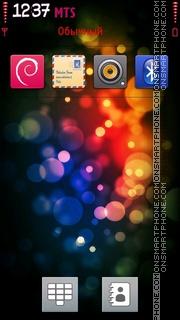 Bokeh 3D theme screenshot