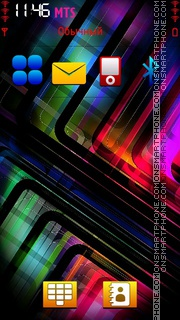 Colour Abstract Style es el tema de pantalla