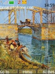 Vincent Willem van Gogh theme screenshot