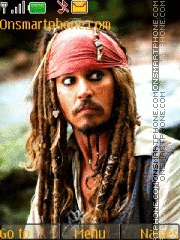 Jack Sparrow On Stranger Tides theme screenshot