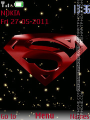 SuperMan 09 theme screenshot