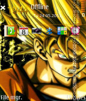 Goku 07 theme screenshot