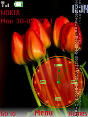 Tulips theme screenshot