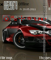 Bmw 2014 theme screenshot