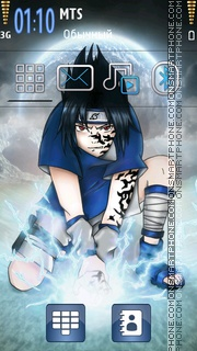 Sasuke 09 theme screenshot