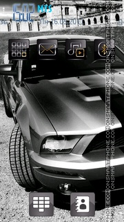 Shelby Gt 500 01 theme screenshot