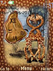 Safari Clock Theme-Screenshot