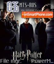 Harry Potter 5 theme screenshot