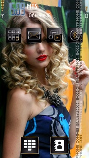 Taylor Swift Love You es el tema de pantalla