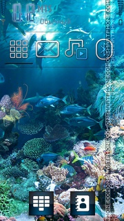 Sea World theme screenshot
