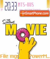 The Simpsons 03 theme screenshot