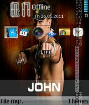 Скриншот темы Johncena