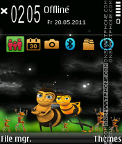 Beez fp1 theme screenshot
