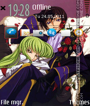 Code Geass 04 theme screenshot