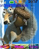 Ice Age Scrat and Scratte Theme-Screenshot