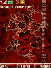Скриншот темы Stone Flower