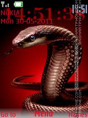 Скриншот темы Cobra Clock 01