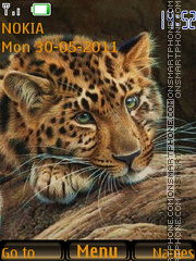 Leopard 05 theme screenshot