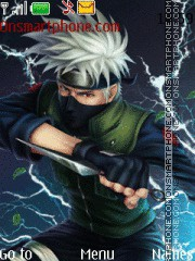 Kakashi Characters Icons theme screenshot