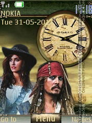 Pirates Of Caribbean 02 theme screenshot