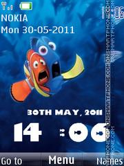 Скриншот темы Nemo Clock 01