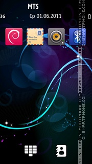 Circles theme screenshot