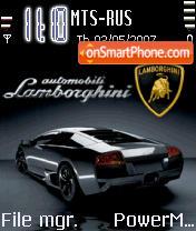 Animated Lamborghini Car es el tema de pantalla