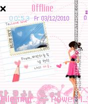 Cutiecutie tema screenshot