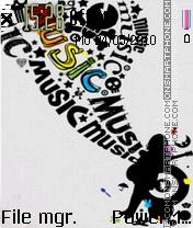 Music 5326 theme screenshot