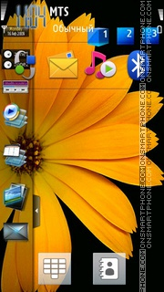 Samsung omnia Hd theme screenshot
