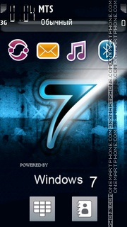 Samsung Windows 7 theme screenshot