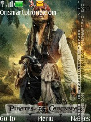 Pirates Of Caribbean 03 theme screenshot