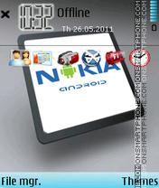 Nokia Android Theme-Screenshot