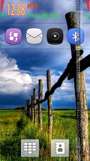 Country Dream theme screenshot