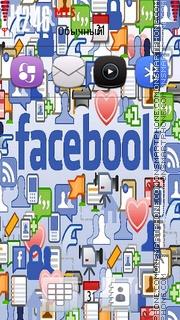 Facebook theme screenshot