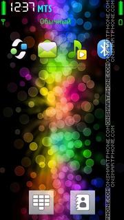 Coloured Bokeh theme screenshot